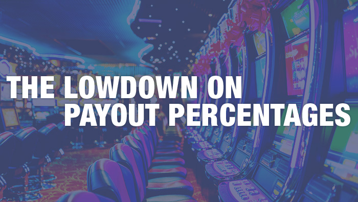 casino slot machine payout percentage