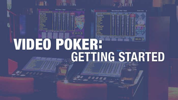Video Poker Beginner: Getting Started - Bovada Casino Blog