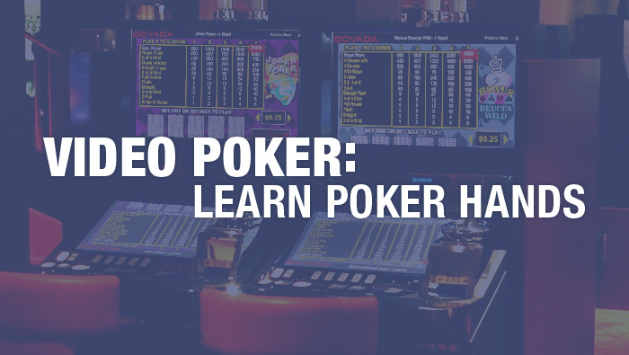 Video Poker: Learn Poker Hands - Bovada Casino Blog