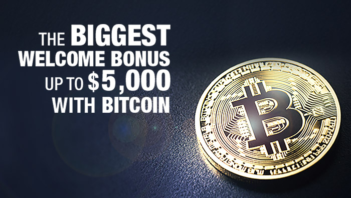 Welcome Bonus Offers Up to $5,000 in Bitcoin Benefits