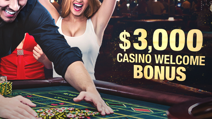 $ 3000 Welcome Bonus at Bovada