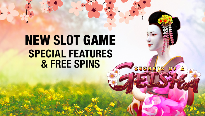 Try out our new Secrets of Geisha online slots game - Bovada Casino