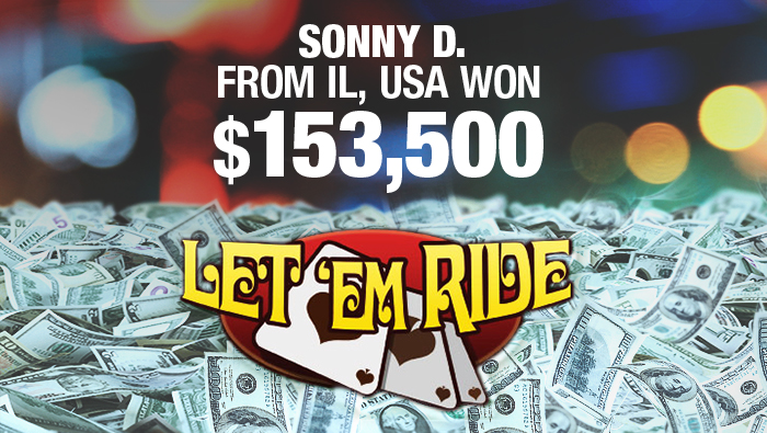 Illinois Poker Player Wins Big at Let'Em Ride