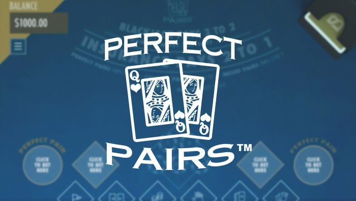 Play Perfect Pairs Online Blackjack - Bovada Casino