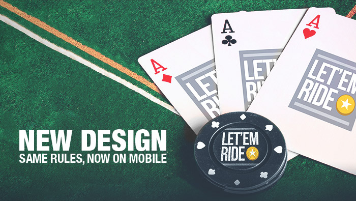 New Let 'Em Ride Mobile-Optimized Table Game at Bovada Casino