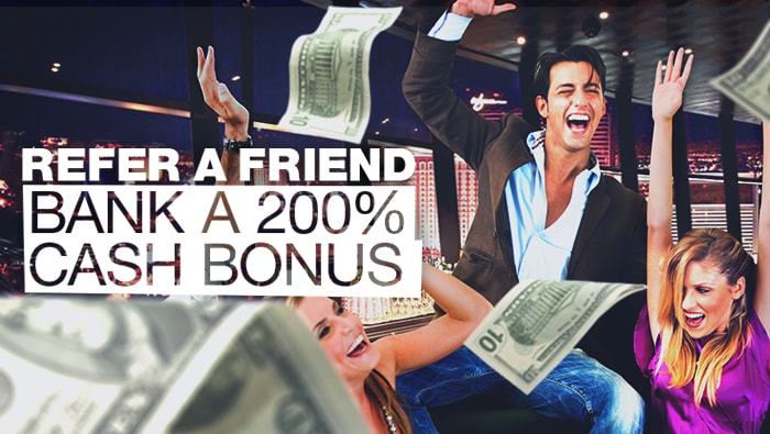 Online Casino Bonuses: Refer A Friend Promo at Bovada