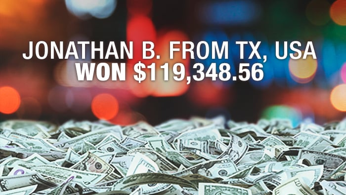 Caribbean Hold'Em Player Triggers Jackpot - Bovada Casino