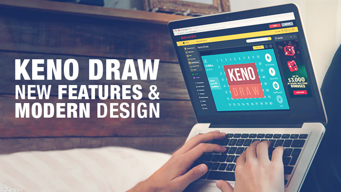 New and Improved Online Keno Game: Play it Today at Bovada