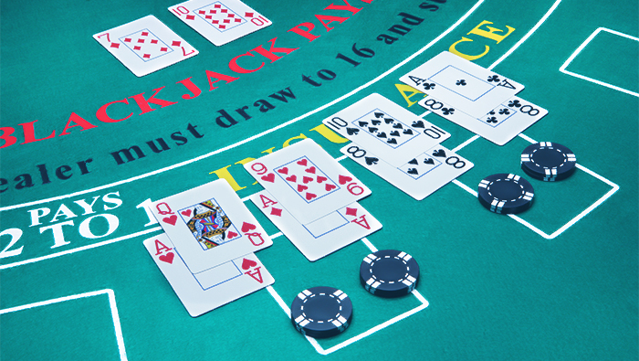 Doubling Down Strategy for Single-Deck Blackjack