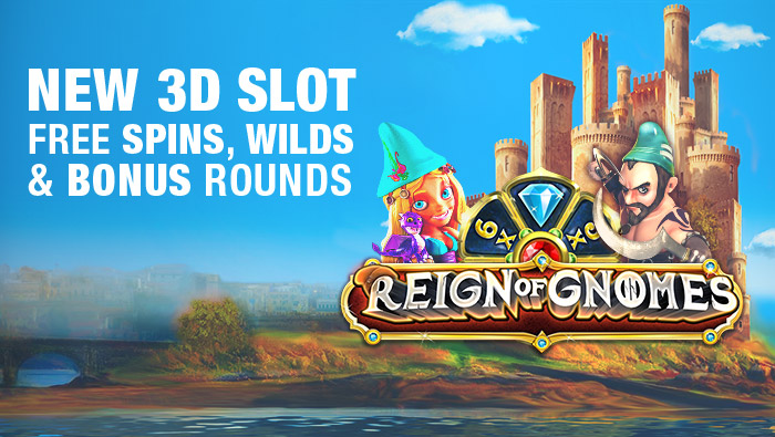 New Slot, Reign of Gnomes, Offers 243 Ways to Win - Bovada Casino