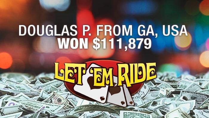 Let Em Ride Triggers Progressive Jackpot with royal flush at Bovada