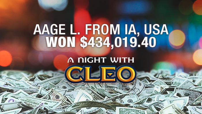Bovada Player Wins Big Playing A Night With Cleo