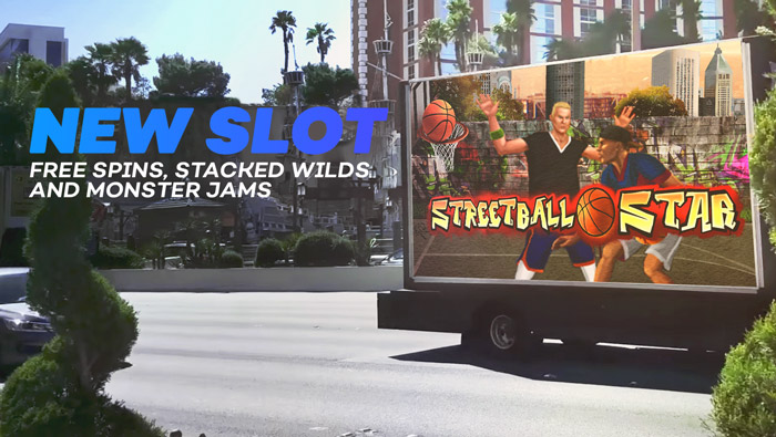 Try New Streetball Star Online Slot Game at Bovada Casino