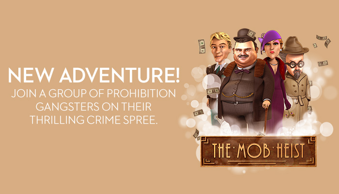 Enjoy The Mob Heist at Bovada Casino